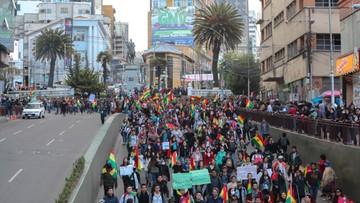 Protesty po wyborach w Boliwii. Urzędujący prezydent walczy o czwartą kadencję