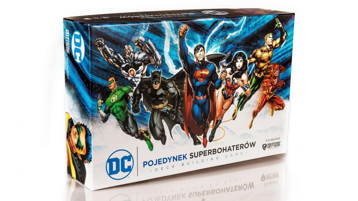Planszówki są super! Pojedynek Superbohaterów DC