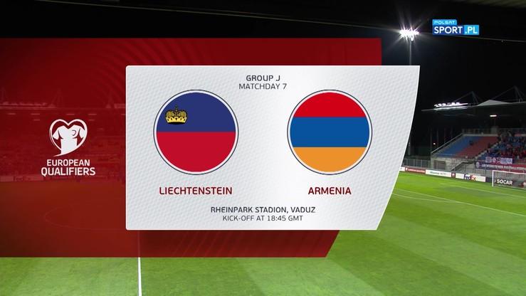 Liechtenstein - Armenia 1:1. Skrót meczu