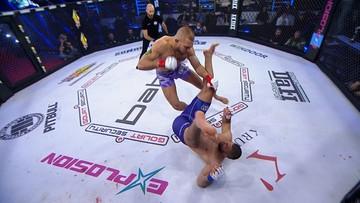Babilon MMA 18: Co za nokaut! Łukasz Sudolski błyskawicznie zgasił światło rywalowi (WIDEO)