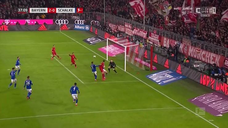 Bayern Monachium - Schalke 04 5:0. Skrót meczu [ELEVEN SPORTS]