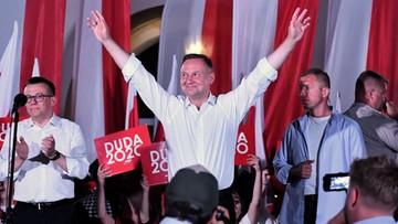"""""""Chce budować Polskę poszanowania drugiego człowieka"""". Ostatni wiec Andrzej Dudy"""