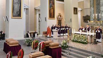 Litwa: pogrzeb przywódców powstania styczniowego