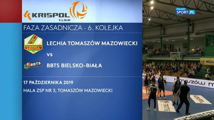 2019-10-17 Lechia Tomaszów Mazowiecki - BBTS Bielsko-Biała 3:1. Skrót meczu