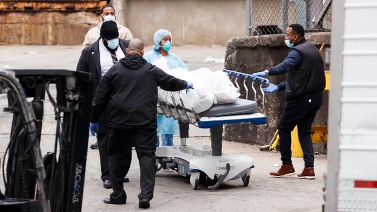 USA: z powodu koronawirusa zmarło więcej ludzi niż w zamachach z 11 września