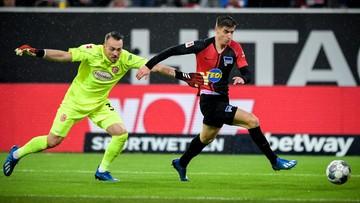 Bundesliga: Gol Piątka na 3:3! Remis Herthy w szalonym meczu