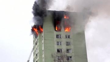 Potężny wybuch gazu i pożar w bloku na Słowacji. Nie żyje pięć osób