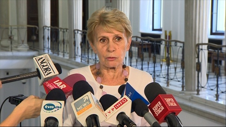 Śledzińska-Katarasińska twierdzi, że informacja ws. głosowania do niej nie dotarła