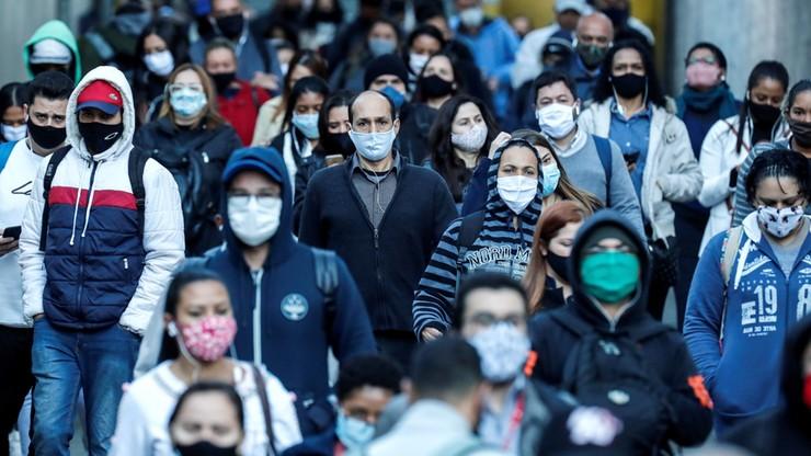 """25 mln osób na świecie zachorowało na Covid-19. Pandemia w Brazylii """"przekroczyła punkt krytyczny"""""""