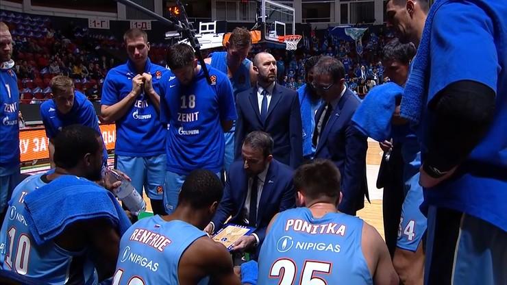 Euroliga: Drużyna Ponitki przegrała z Crveną Zvezdą Belgrad