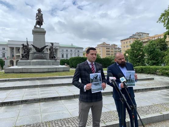 Porozumienie chce, by sprawą zniszczenia pomnika zajęła się prokuratura