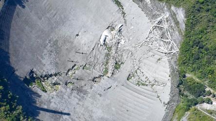 02-12-2020 08:00 Wczoraj Obserwatorium Arecibo uległo całkowitemu zniszczeniu. Zobacz to na zdjęciach