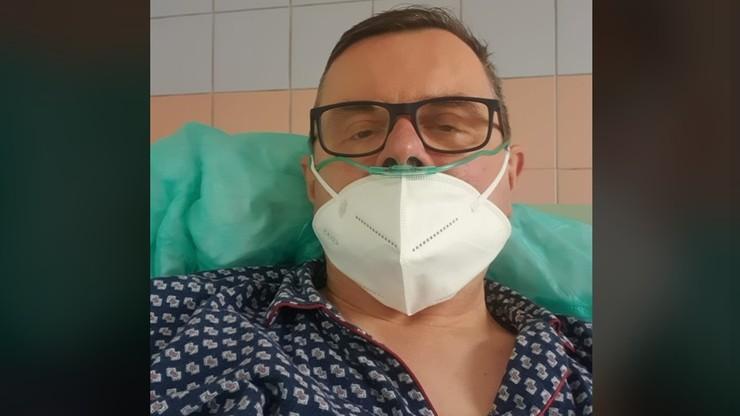 Chory na Covid-19 poseł w poważnym stanie. Apeluje o opamiętanie