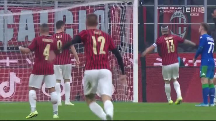 Milan znowu bez gola. Nieuznane trafienie Theo Hernandeza [ELEVEN SPORTS]