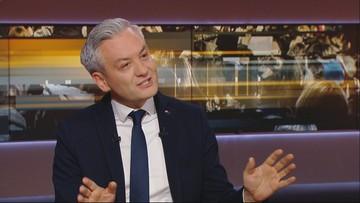 Biedroń: ustawa kagańcowa to prezent walentynkowy dla Jarosława Kaczyńskiego