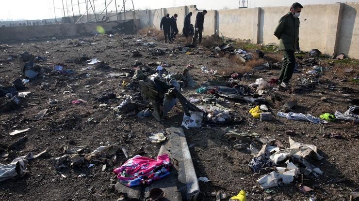 Iran przyznał się do zestrzelenia ukraińskiego samolotu