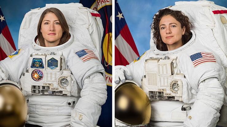 Pierwszy kosmiczny spacer kobiet. Zobacz transmisję z ponad 400 km nad Ziemią