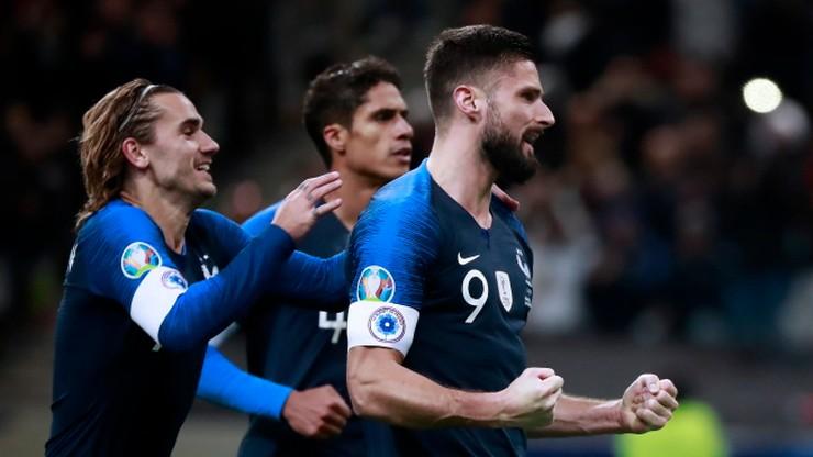 El. Euro 2020: Francja wymęczyła zwycięstwo z Mołdawią