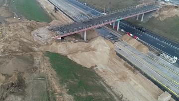 Autostrada A1 częściowo zamknięta. Trwa wyburzanie wiaduktów