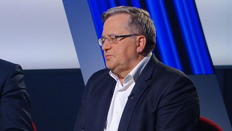 Bronisław Komorowski już wie, kogo poprze w wyborach prezydenckich
