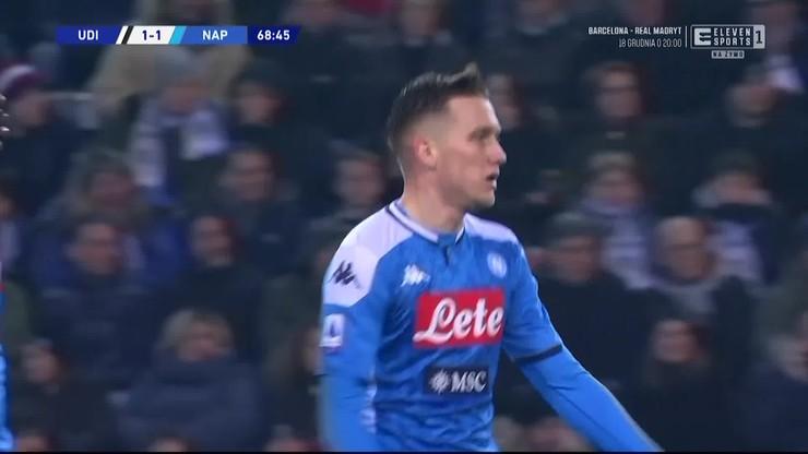 Gol Zielińskiego w meczu z Udinese! [ELEVEN SPORTS]