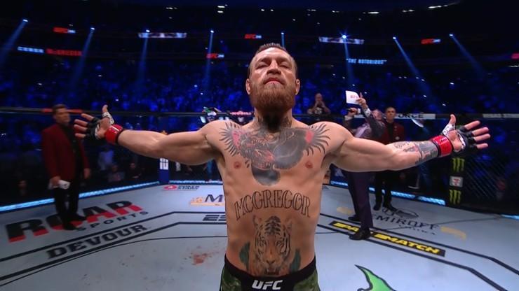 McGregor: Jest jeden lepszy ode mnie w historii UFC