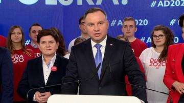 Prezydent skomentował zajścia w Pucku i gest Lichockiej