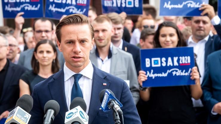 Bosak: wizyta prezydenta w Białym Domu jest elementem kampanii wyborczej