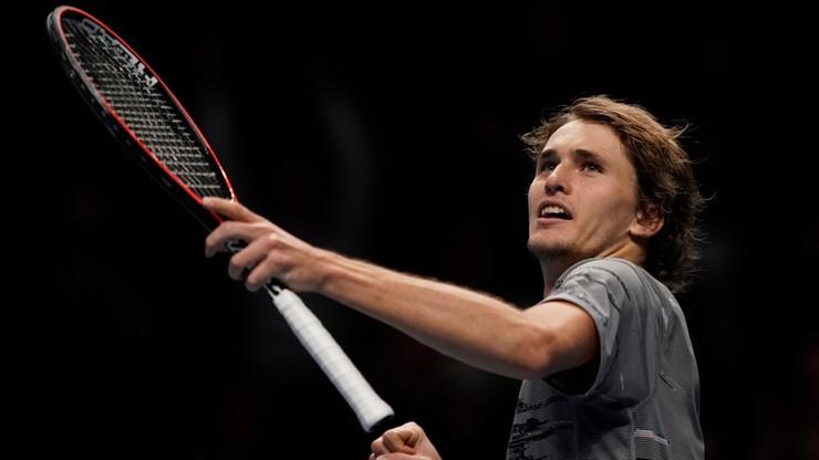 ATP Finals: Zverev ostatnim półfinalistą. Koniec turnieju dla Nadala