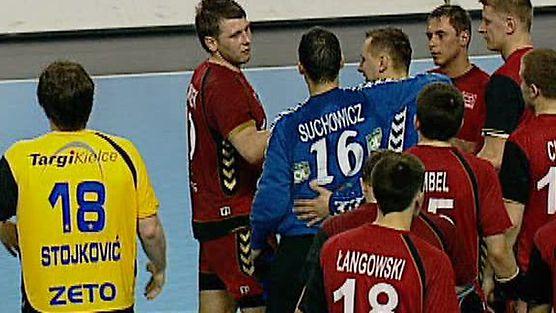 KS VIVE Targi Kielce - MMTS Kwidzyn II połowa, mecz nr.1