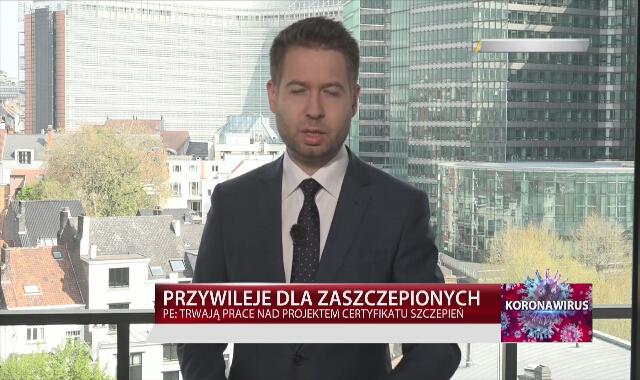 W Parlamencie Europejskim trwają prace nad projektem certyfikatu szczepień