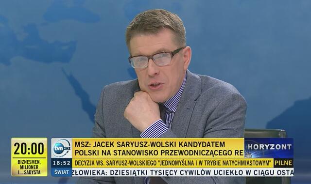 """Saryusz-Wolski usunięty z PO. """"Nie znalazł czasu na rozmowę z przedstawicielami partii"""""""