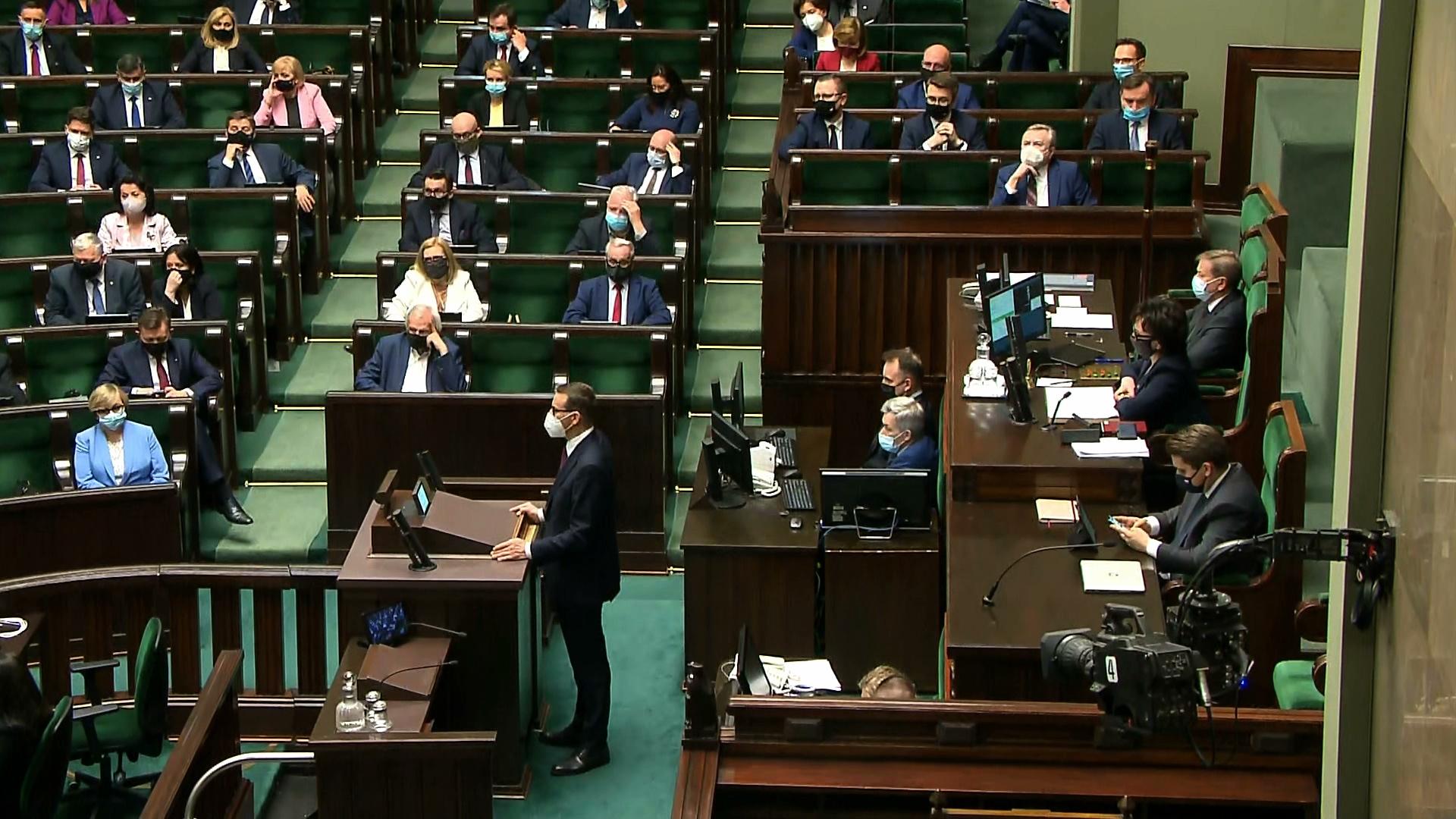 Sejm wyraził zgodę na ratyfikację Funduszu Odbudowy