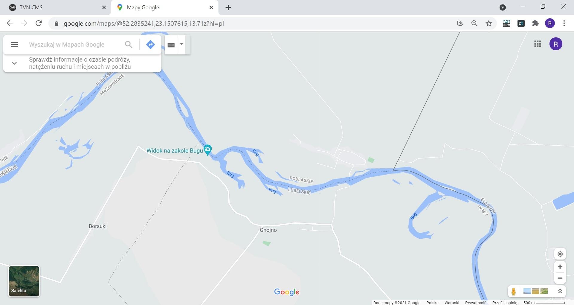 Od granicy powiatu łosickiego do Białorusi jest jeszcze parę kilometrów. Rzeką Bug biegnie granica między województwami podlaskim i lubelskim