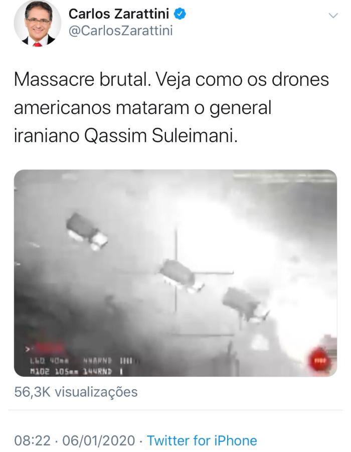 Wpis brazylijskiego polityka