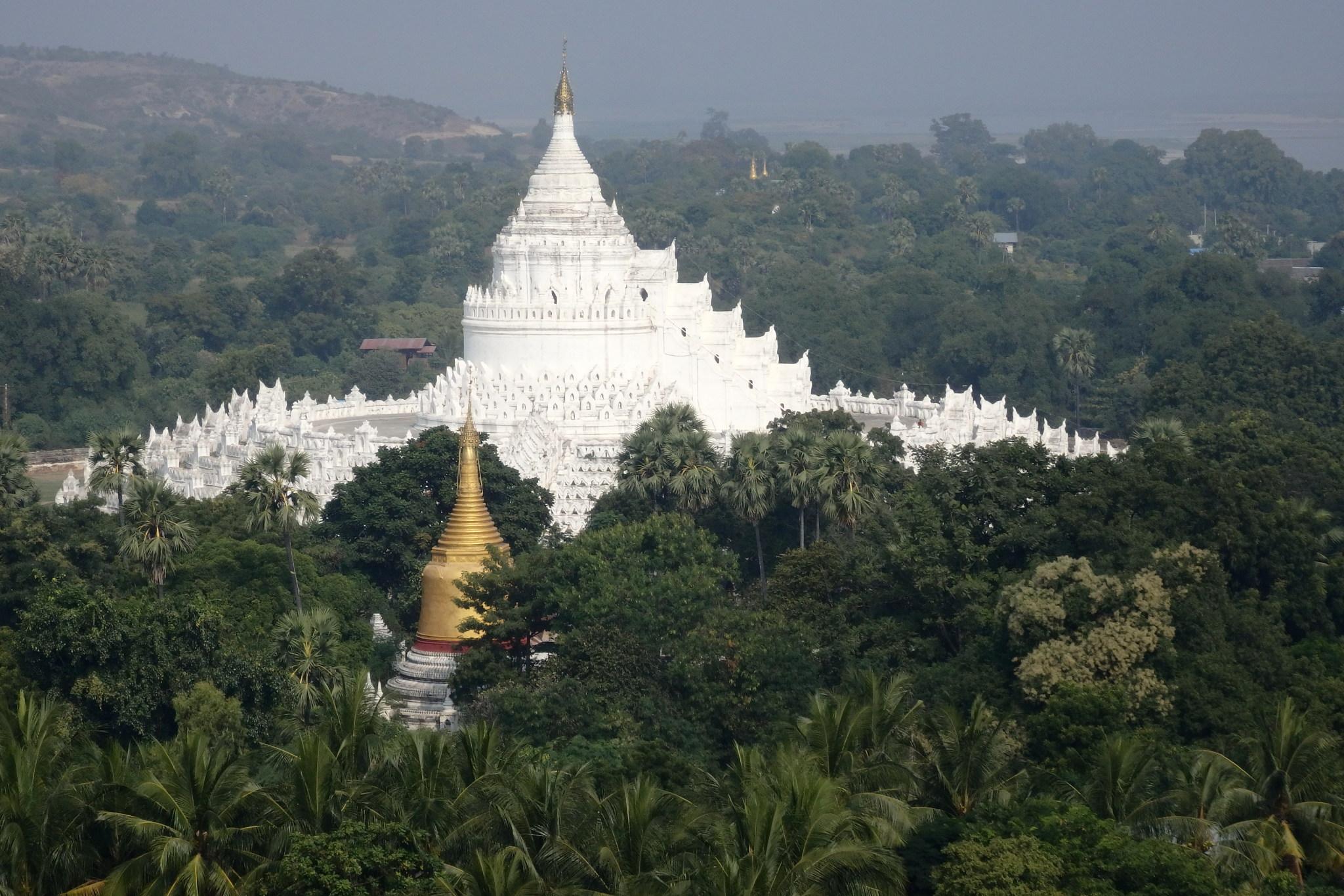 Birmańskie wyobrażenie góry Meru