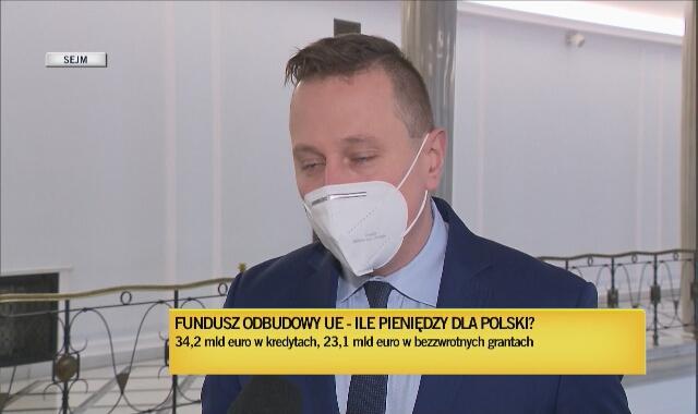 Brejza o Funduszu Odbudowy: niech premier spojrzy głęboko w oczy m.in. polskim przedsiębiorcom i powie, że te pieniądze są niepotrzebne