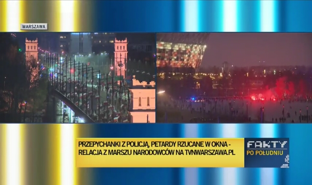 Karczyński o Marszu Niepodległości: To nie jest tak, jak na filmach, że wejdą policjanci, rozgonią. To jest wielotysięczny tłum