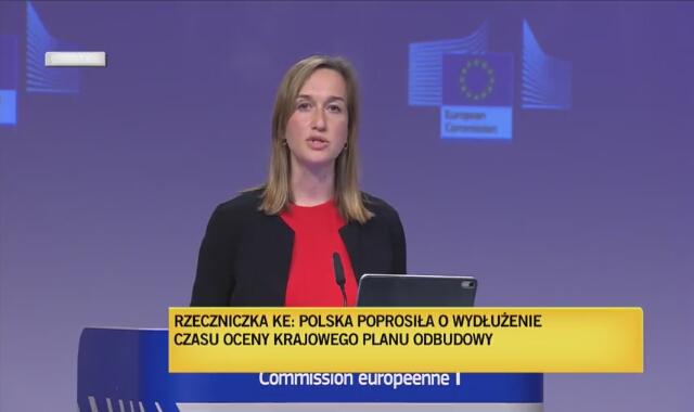 """Rzeczniczka KE: """"Polska poprosiła o przedłużenie oceny KPO"""""""