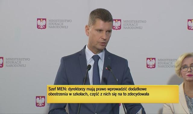 Minister Piontkowski: Niemal sto procent szkół działa normalnie