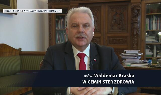 """Wiceminister zdrowia o zakażeniach mutacją Delta w Polsce. """"Zaczyna dominować"""""""