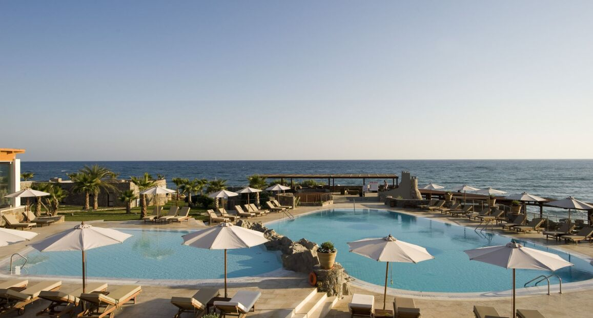 Ikaros Beach Resort Amp Spa Kreta Grecja Opis Hotelu